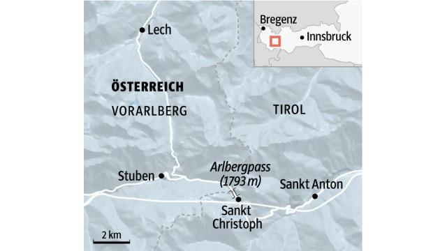 Österreich Arlberg in Österreich