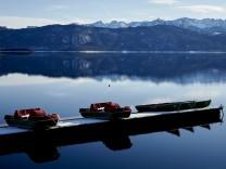 Walchensee Tretboote