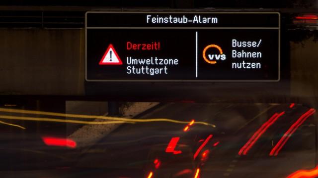 Feinstaub-Alarm
