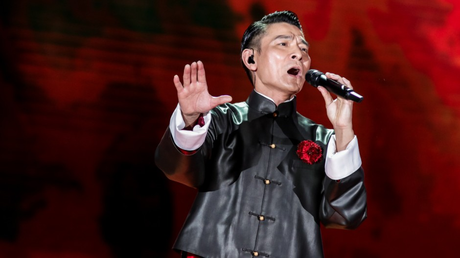 Andy Lau glams up CCTV New Year's Gala