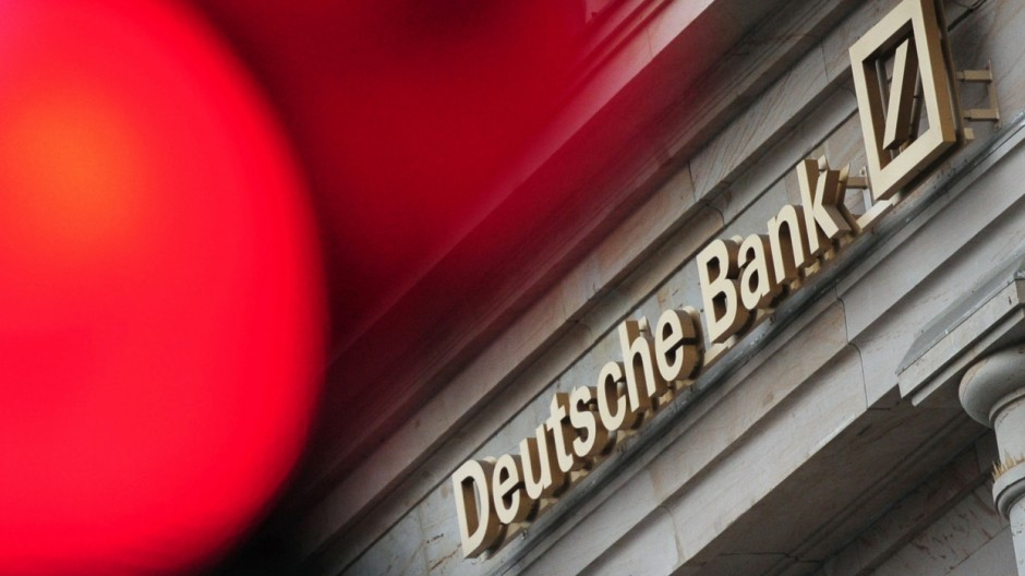 Deutsche Bank - Jahreszahlen