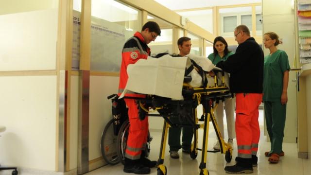 Notfallambulanz der Medizinischen Klinik der LMU in München, 2013