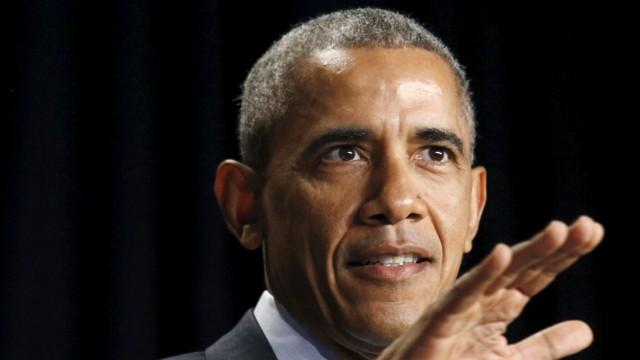 Obama speaks at the National Prayer Breakfast in Washington
