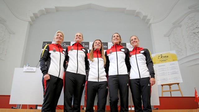Auslosung zum Fed-Cup-Viertelfinale Deutschland - Schweiz