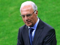 File photo of a former FIFA executive committee member Beckenbauer