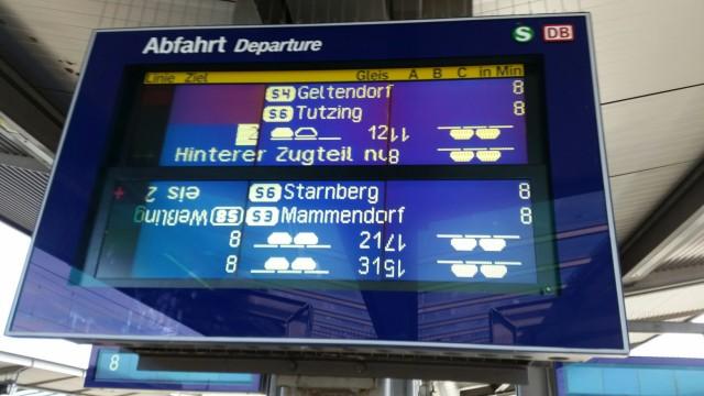 S-Bahn-Chaos 6.10.2015, München