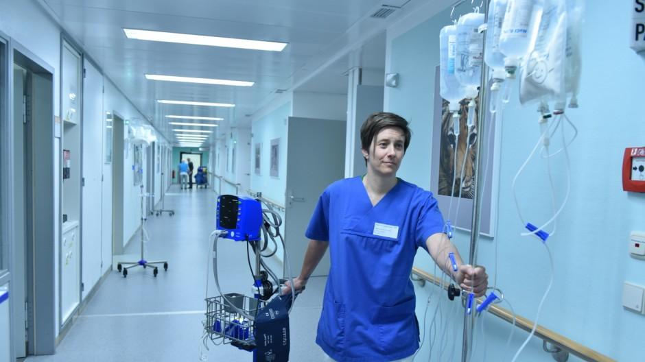 Süddeutsche Zeitung München Pflege im Krankenhaus