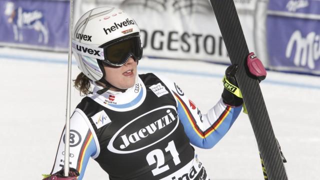 Wintersport Kandahar-Abfahrt in Garmisch