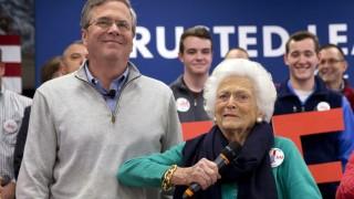 Jeb Bush, Barbara Bush