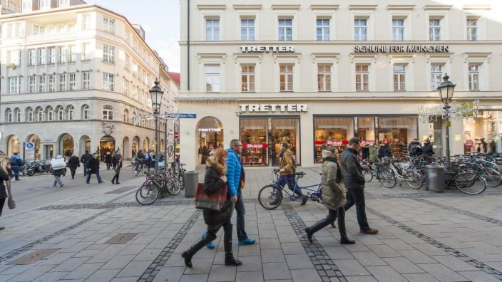 Schuhe Filiale in MünchenTretter bester Lage eröffnet tQhdsr