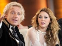 Thomas Gottschalk und Miley Cyrus