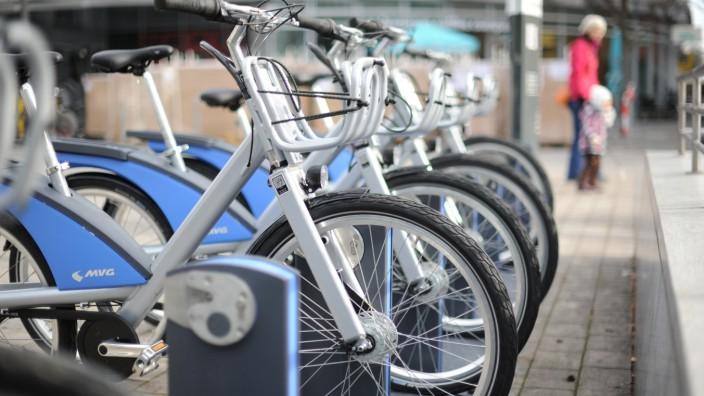 MVG Räder in München