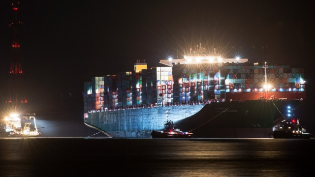 Bergung des Containerfrachters 'CSCL Indian Ocean'