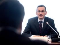 Bundeswirtschaftsminister Sigmar Gabriel in Polen