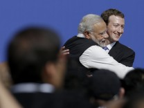 Narendra Modi, Mark Zuckerberg