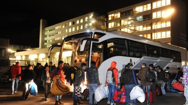 Flüchtlinge in München Unterbringung