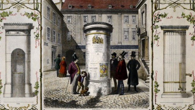 Vor 200 Jahren wurde Ernst Litfass geboren