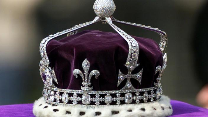 Krone der britischen Queen Elisabeth