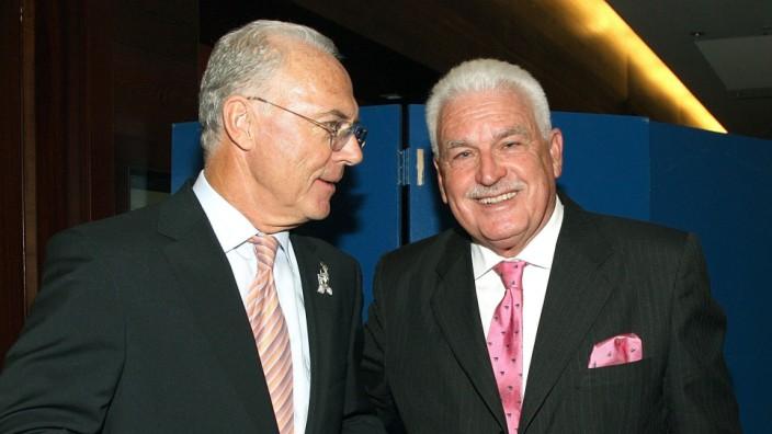 Franz Beckenbauer und Fedor Radmann