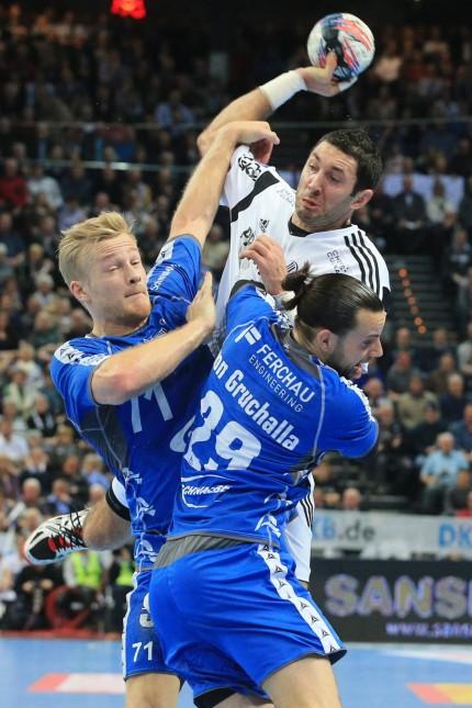 Kiel 10 February 2016 Handball Saison 2015 2016 Bundesliga THW Kiel VfL Gummersbach Blazenko