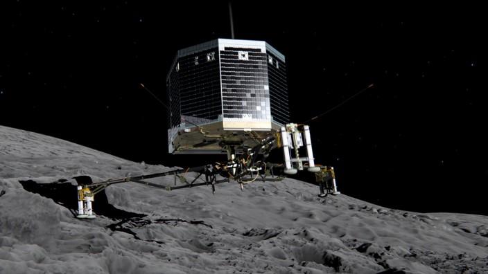 Rosetta-Mission der esa