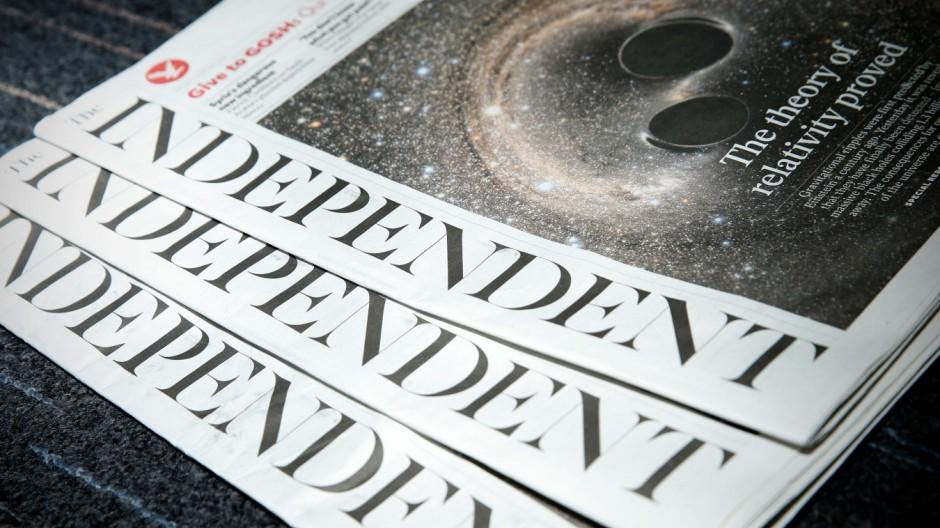 The Independent Britische Zeitung
