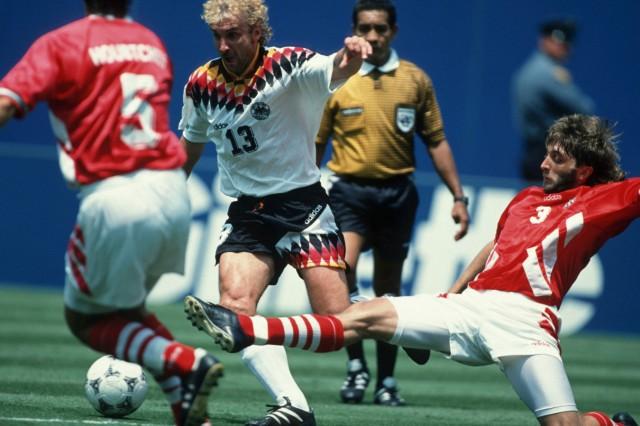 World Cup quarter final match Bulgaria v Germany