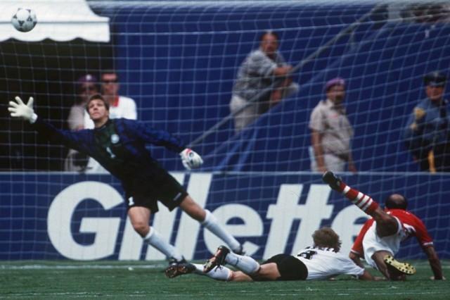 FUSSBALL: WM 1994 BGR - GER 2:1 Viertelfinale