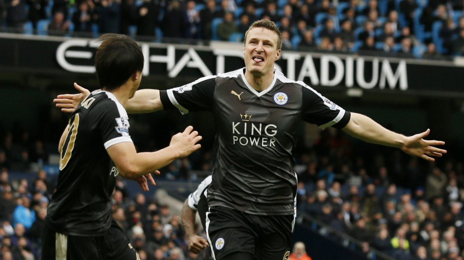 Manchester City v Leicester City - Barclays Premier League