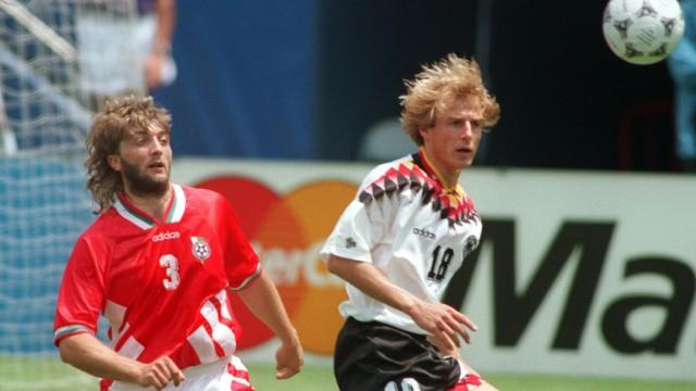 Fußball-WM '94: Deutschland - Bulgarien 1:2