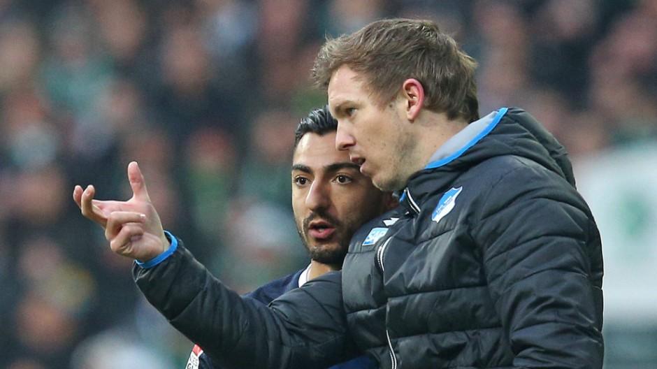 13 02 2016 Fussball 1 Bundesliga 2015 2016 21 Spieltag SV Werder Bremen TSG 1899 Hoffenheim im