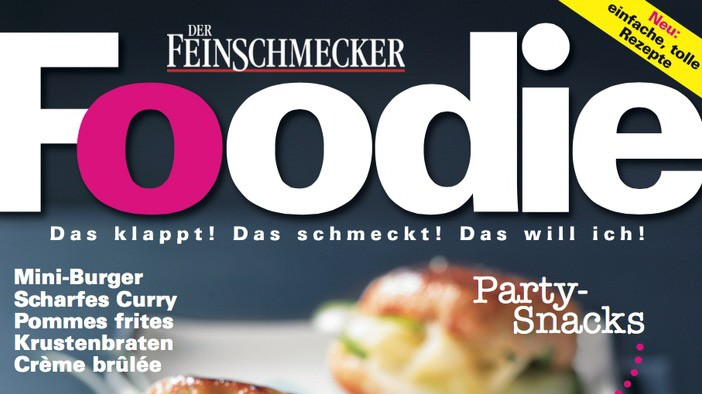 """Ernährung Neues Magazin """"Foodie"""""""