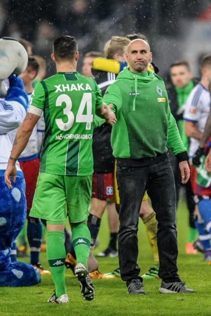 Deutschland Hamburg Volkspark Stadion Fussball 1 Bundesliga Saison 2015 2016 Hamburger SV