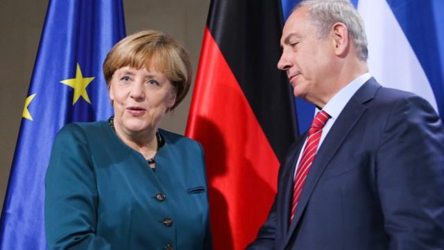 vor deutsch-israelischen Regierungskonsultationen