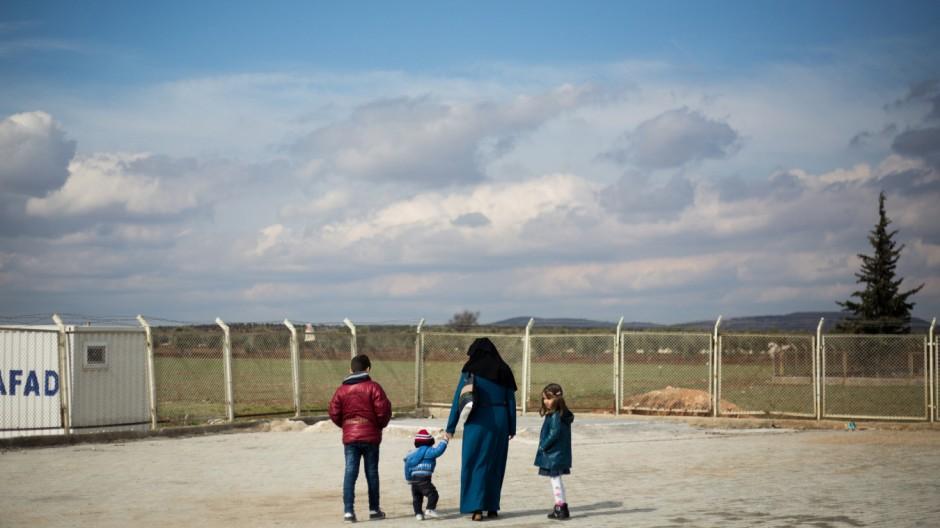 Lage an der türkisch-syrischen Grenze
