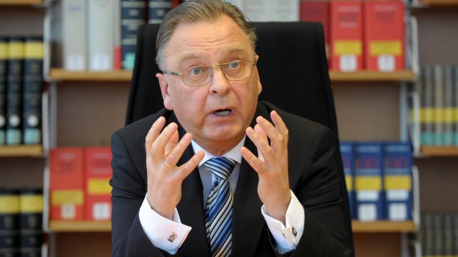 BVG-Präsident Hans-Jürgen Papier