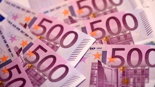 500-Euro-Schein Banknoten