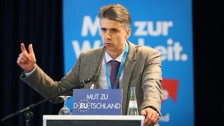 Euro Skeptiker in Berlin GER Berlin 20140201 Alternative fuer Deutschland in Berlin Partei will