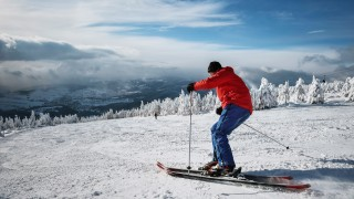 Winter weather in a ski resort Rokytnice nad Jizerou Czech Republic January 17 2016 CTKxPhoto
