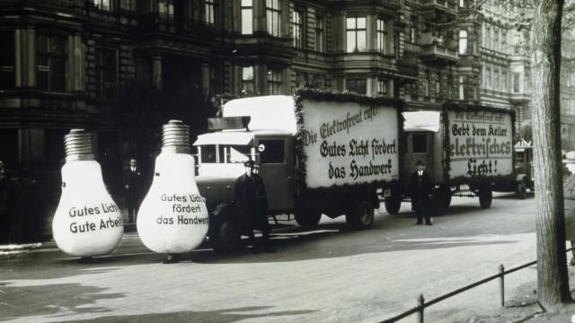 Osram, Werbeaktion aus den 1920er Jahren