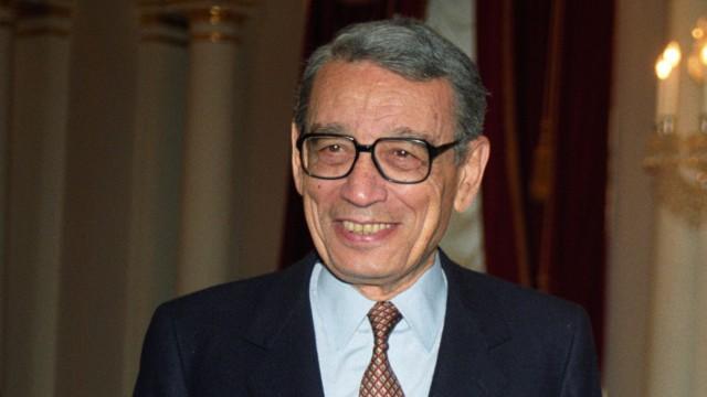 Former UN secretary general Boutros Boutros-Ghali is dead