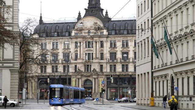 Bernheimer Palais in München, 2012