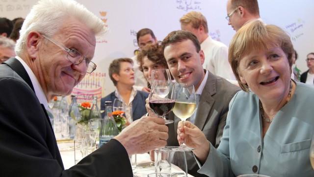 Merkel und Kretschmann