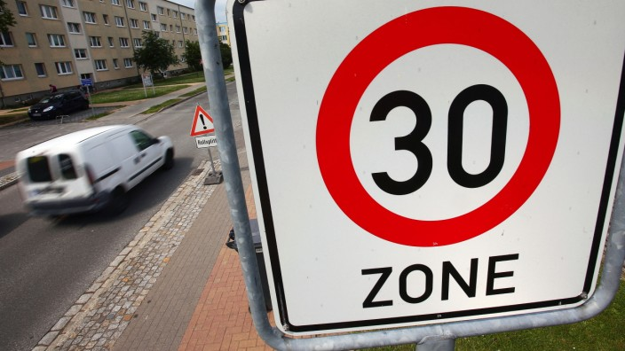 Gewerkschaft der Polizei will Tempo 30 in Innenstädten