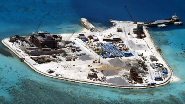 China moves surface-to-air missile system to disputed island