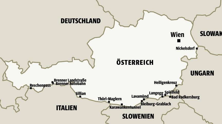 Österreich akzeptiert nur noch 80 Asylanträge pro Tag