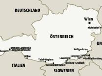 Grenzübergänge in Österreich