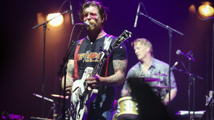 Eagles of Death Metal concert at L'Olympia in Paris