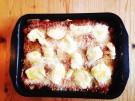 Melanzane alla parmigiana vorher