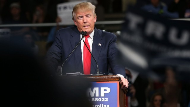 GOP Presidential Candidate Donald Trump Campaigns In South Carolina Ahead Of State's Primary